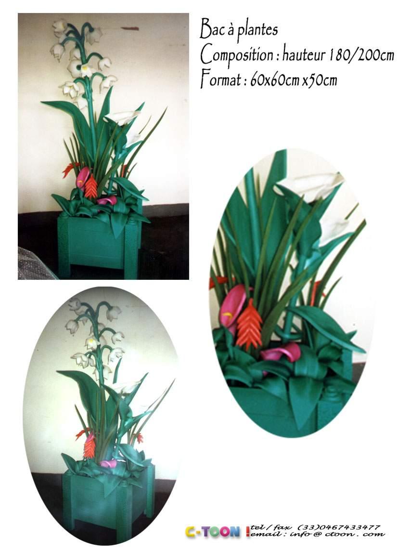 Fleur Bac A Plantes Ctoon