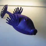poisson coffre -diodon en mousse